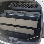 Rapid Access Weapon Locker Full Package with Spare Tire Cargo Organizer
